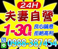 【良心論息 夫妻自營】家庭式 24H | 1-30萬 拒絕高利【LINE借錢】