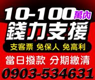 【支客票 免保人低利息】分期繳清 當日撥款 | 10-100萬 誠信經營【LINE借錢】